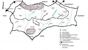 Une carte de Batcha