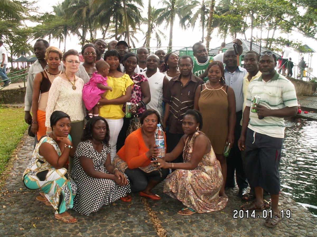 Viree Batcha a Seme Beach Limbe